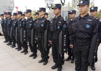 保安公司进行训练的目的是什么?